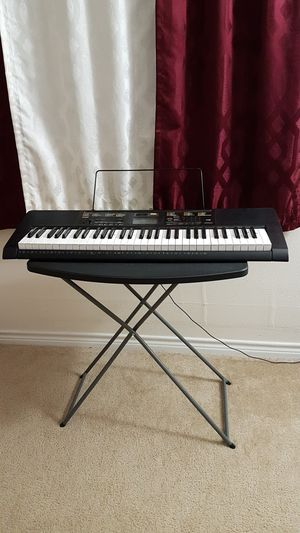 CASIO CTK 2400 61 keys Digital Keyboard with stand for Sale in Braintree, MA