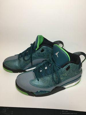 Nike Air Jordan Dub Zero Teal Men's Basketball 311046 330 Sz 9.5 for Sale in Kissimmee, FL