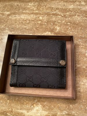 Authentic Black Gucci Wallet for Sale in Las Vegas, NV
