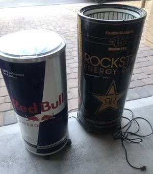 Rockstar Fridge / Red Bull Cooler for Sale in North Las Vegas, NV