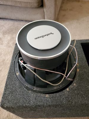 Rock fosgate p3 espikers 12 inchs good espikers for Sale in Seattle, WA