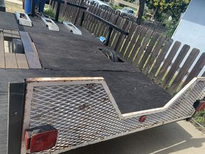trailer for motorsports, car, hauling 11x6 with a tailgate ramp goes up and down for Sale in Norco, CA