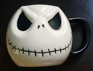 Disney Monogram The Nightmare Before Christmas Jack Skellington Head Ceramic Mug for Sale in Spring Valley, CA