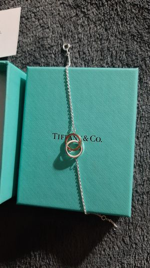 Tiffany&co sterling RBDO MN 1837 INTLK BLT ADJ for Sale in Woodville, CA
