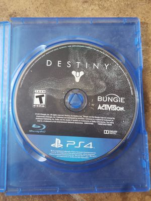 $5 PS4 Destiny for Sale in Visalia, CA