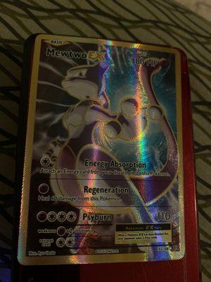Pokemon Card:Mewtwo Ex Fullart for Sale in Garner, NC
