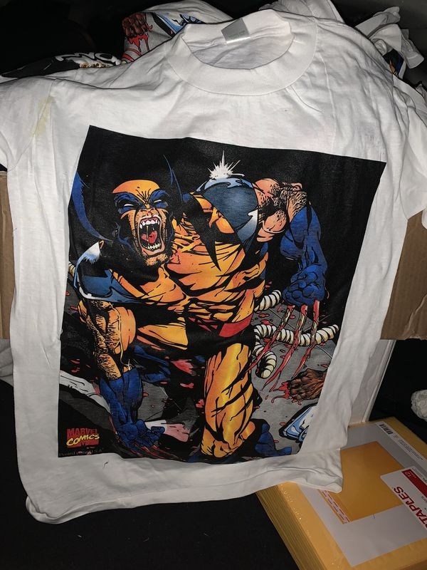 Marvel comics wolverine tee shirt M
