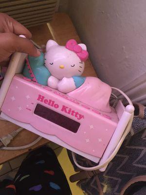 Hello kitty alarm clock for Sale in Bakersfield, CA
