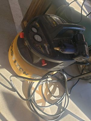 Air compressor hose and drill. Make offer for Sale in Spartanburg, SC