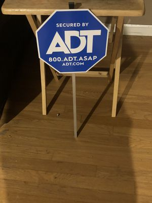 ADT sign for Sale in Fresno, CA