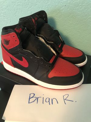 DS Jordan Retro 1 Banned 2016 Size 5Y for Sale in Fresno, CA