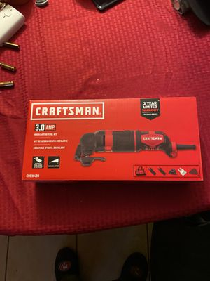 Corded oscillating tool kit for Sale in Sacramento, CA