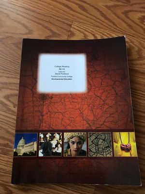 Custom College Reading Textbook for Sale in Hillsboro, OR