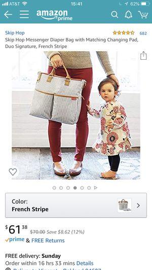 Skip hop Duo messenger diaper bag for Sale in Alameda, CA