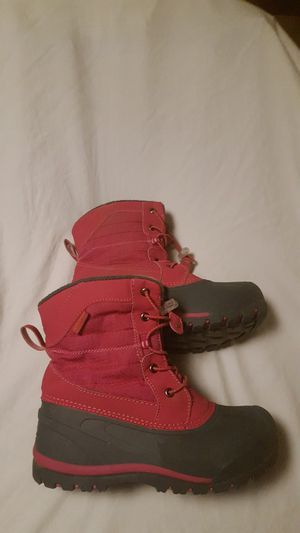 Northside waterproof winter boots big girls size 4 for Sale in Everett, WA
