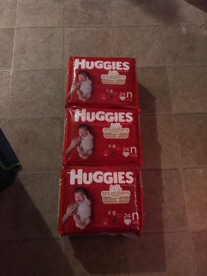 Huggies & pamapers for Sale in Bensenville, IL