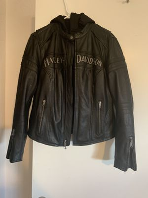 HD women's Miss Enthusiast 3N1 Leather Riding Jacket for Sale in Las Vegas, NV