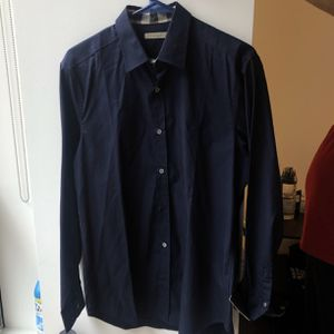 Burberry Blue dress shirt for Sale in Arlington, VA