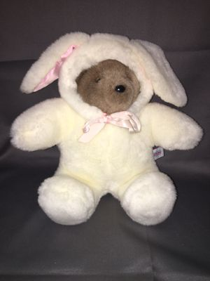 Plush stuffed animal Easter bunny rabbit teddy bear for Sale in El Mirage, AZ