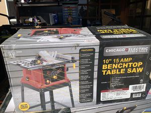 """10"""" 15 amp bench top table saw for Sale in Chula Vista, CA"""
