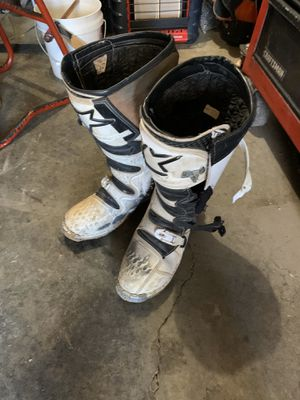 Fox Dirt Bike Boots (size 12) for Sale in Denver, CO