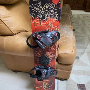Children's Burton Freestyle Brand Snow /Bindings /42 Inches Long for Sale in Fresno, CA