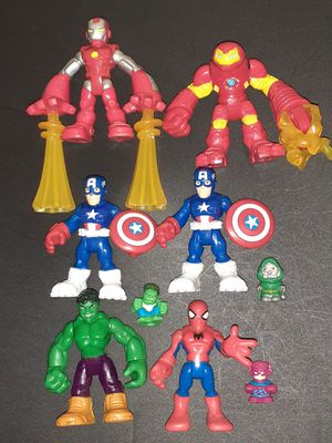 Marvel Imaginex figures Lit & 3 Squishies! for Sale in Lacey, WA