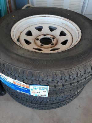 5 lug - new tire 225 75 r 15 ***EACH*** for Sale in Mesa, AZ