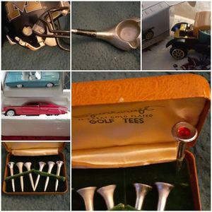 Collectible a golf ashtray/ cars/ Mizzou mini helmet for Sale in Villa Rica, GA