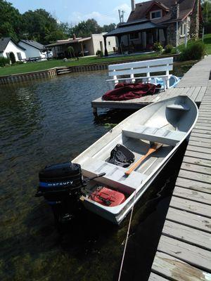12' Aluminum Boat (no motor) for Sale in Northville, MI