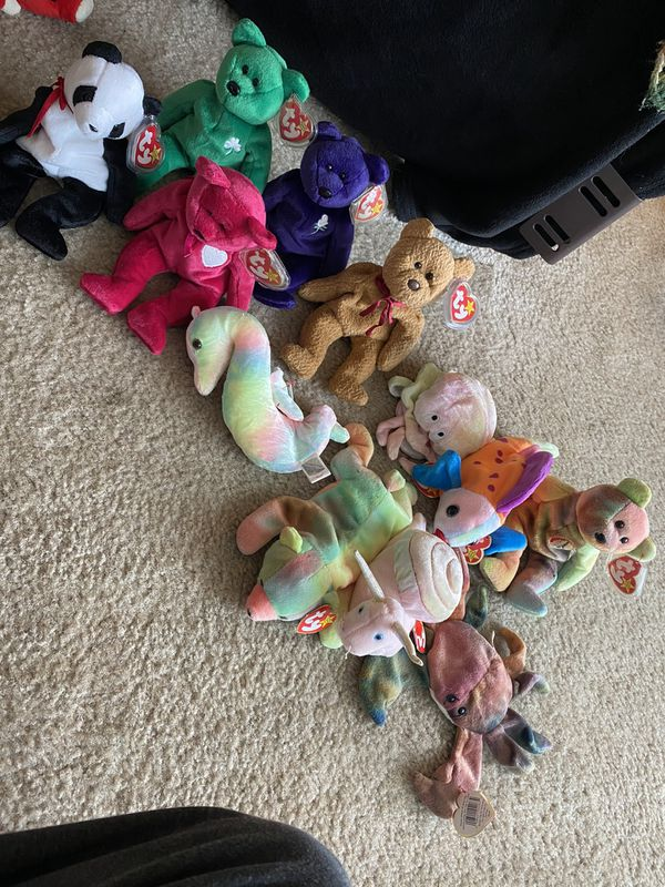 Beanie babies basically brand new I have tons more