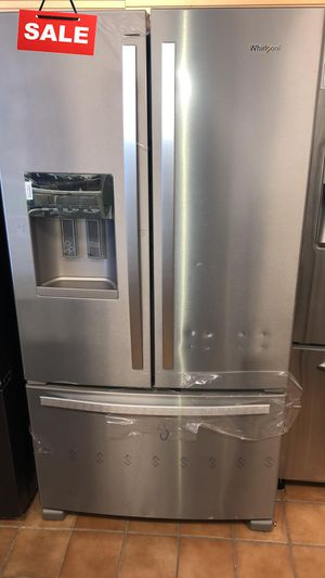 FIRST COME!!CONTACT TODAY! Refrigerator Fridge Whirlpool French Door 3-Door #1486 for Sale in Silver Spring, MD