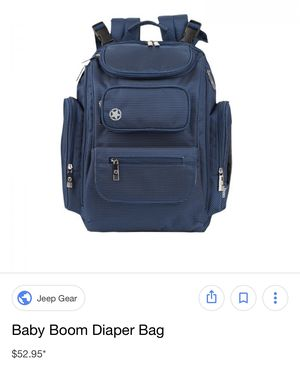 Jeep diaper bag for Sale in Chicago, IL