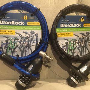 """Wordlock Loop & Lock Bike Lock """"$10 Each"""" for Sale in Manteca, CA"""