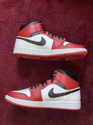 Jordan 1 mid white heel BRAND NEW for Sale in Staten Island, NY