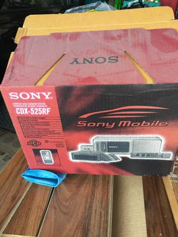 Sony Compact Disc Changer Car System CDX-525RF NEW IN BOX for Sale in Martinez,  CA