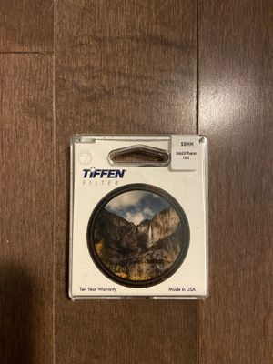 BRAND NEW Unopened Tiffen 55MM Gold Diffusion FX1 Filter for Sale in Brooklyn, NY