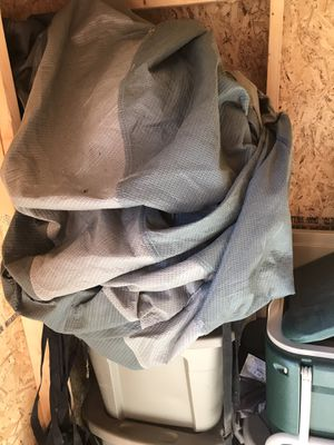 20ft camper cover some small holes. for Sale in Streetsboro, OH