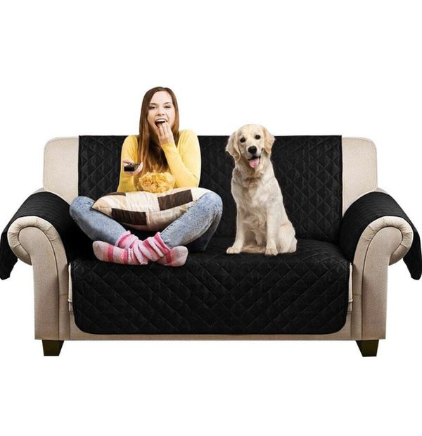 Pet Sofa Cover Anti-Slip Furniture Protector Waterproof Dog Couch Slipcover Scratch-Resistant Love Seat Protection Cover for Dogs Machine Washable, B