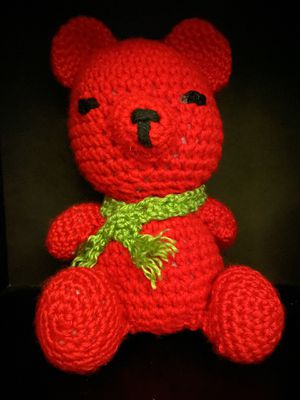 Crocheted Teddy Bear for Sale in Clermont, FL