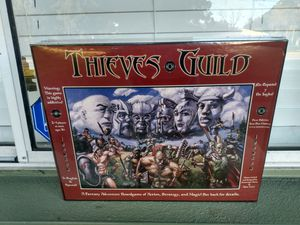 2002 Ironsun Thieves Guild Board Game. A Fantasy Adventure game nib for Sale in St. Petersburg, FL
