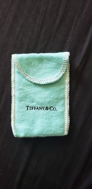 Tiffany dust pouch for Sale in Portland, OR