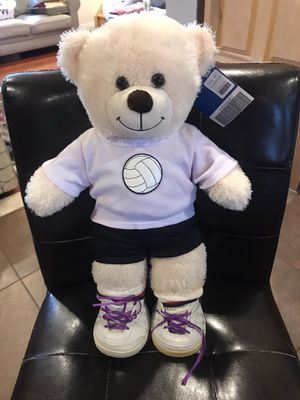 volleyball build a bear stuffed plush for Sale in Queens, NY