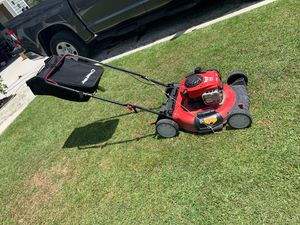 Troy-bolt push mower for Sale in Piney Green, NC