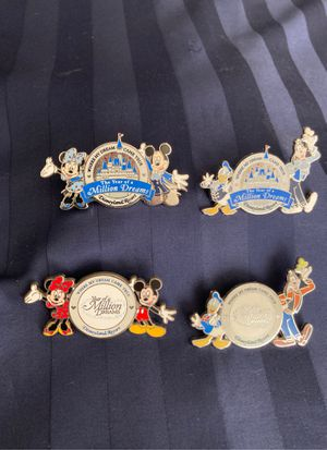 Disney trading pins for Sale in Mission Viejo, CA