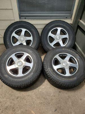 Trailblazer tires and rims for Sale in Austin, TX