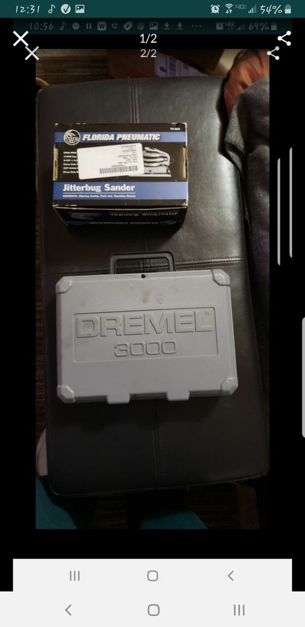 brand new dremel 3000 and pneumatic sander combo asking $70 for both or $50 for dremel and $40 for sander