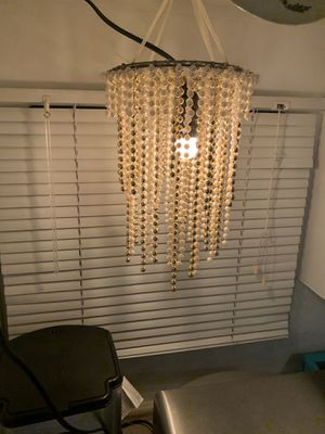Pearl Chandelier 12 in x 9 in round Pearl/Gold for Sale in Arlington, WA