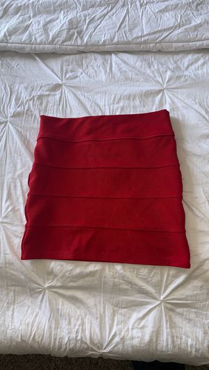 Red pencil skirt for Sale in Canal Winchester, OH