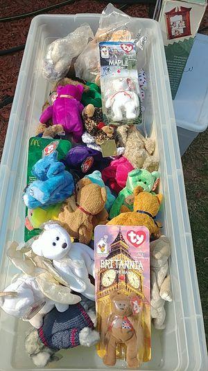 Beanie babys one dollar each for Sale in Phoenix, AZ